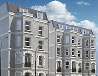 UK Exterior and Interior 3d Visualization