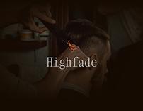 Highfade Landing Page