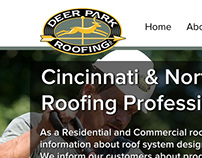 Cincinnati Roofing Website reDesign