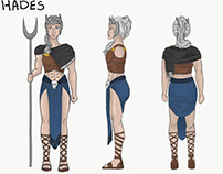 Hades concept character
