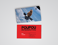 PouPou Interacive Visual Identity