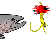 Logo Design for Jason's Fly Tying Services