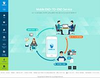 Mobile C&C Website Design