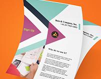 Flyer or Poster Design