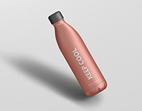 Thermo Bottle Mockup 750ml