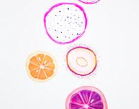 Fruits 🍉 orangey lychee