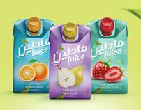 Madleen Juice Packaging
