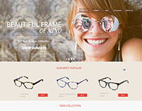 Sun Glasses eCommerce website