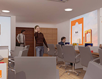 Orange telecom - Staff office