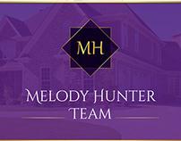 Melody Hunter | Logo Design | Real Estate