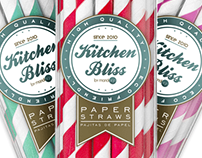 Kitchen Bliss - Logo and Stickers Design