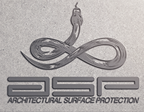 ASP / Architectural Surface Protection | Logo Design