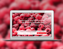 Nutritionist - landing page template