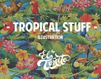 Tropical Stuff (illustration 2014)