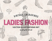 Ladies' Fashion Engravings