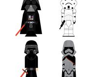 CHARACTER DESIGN – STAR WARS
