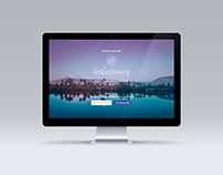 Sabay Beach landing page prototype