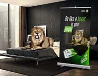 Visual Identity Concept -Aren-A - Lion