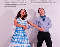 U.S.A. folk dance