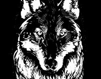 Stitched Wolf Press Logo