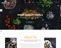 Restaurant HTML Website By Minhazul Asif