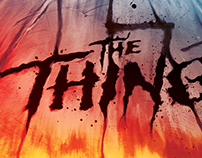 The Thing Official poster art for tribute book