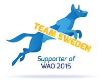 WAO Team Sweden 2015 | Logotype