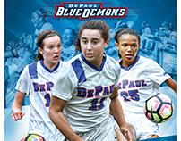 DePaul Women's Soccer Poster