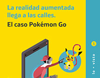 La realidad aumentada. El caso Pokémon Go