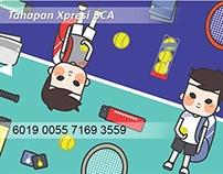"""BCA Karya Sejuta Xpresi - Desain Kartu Tahapan """"ACE"""""""