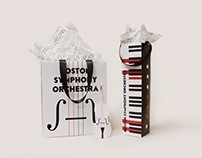 Boston Symphony Orchestra Shopping Bag and Poster Bag