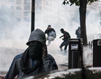 Émeutes, Trocadéro, Paris