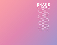 SHAKE SHAKE — Fitness Experience Book Design