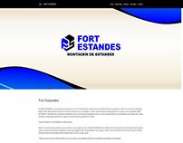 Site Institucional Fort Estandes