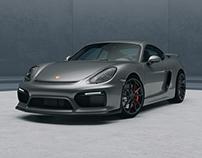 Porsche Cayman GT4 CGI