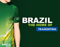 """Marketing Campaign """"Brazil, the Home of Tramontina"""""""