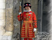 Yeoman Warder( box art for ICM )