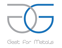 Gest For Metals Logo and Corporate Identity