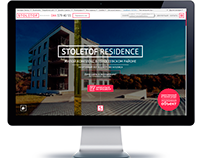"Landing page ""Stoletof Residence"""