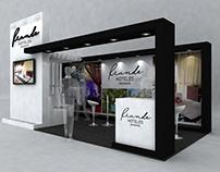 Stand conceptual Hoteles Riande 2016