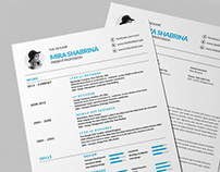 Free Modern Simple Resume Template for Any Job Seeker
