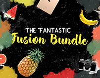 Fantastic Fusion Bundle: Fonts & Graphic Elements