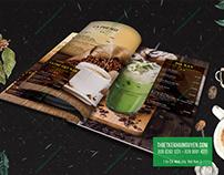 Coffee menu design - ngoc lan coffee