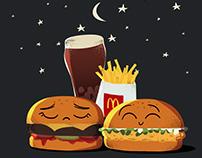 McDonalds mix 2 meal