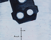 """Die Beleidigung des Mechantronikers"" AoC 60 x 120 cm"