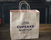 Little Cupcake Bakeshop Identity
