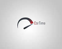 Logotype and branding Youtube channel for CarTime