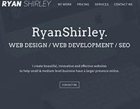 Ryan Shirley Landing Page