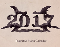The Projective Moon Calendar