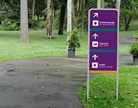 Projeto de Sinalização - Jardim Botânico de São Paulo
